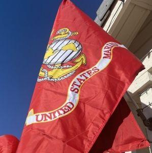 USMC UNITED STATE MARINE CORPS FLAG 3 X 5 SEMPER F